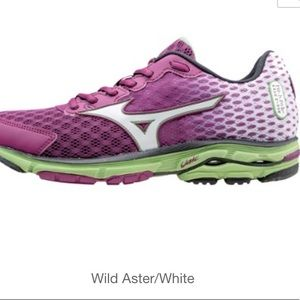 Mizuno Wave Rider 18 Running Shoes Sz 9 Pink